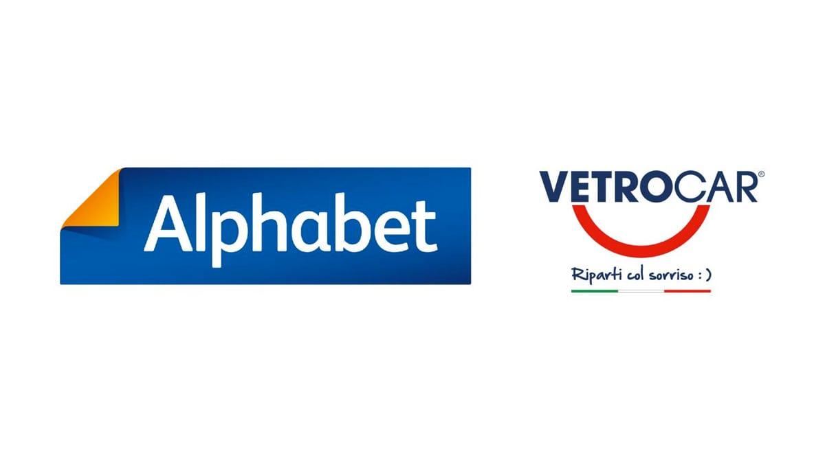 Nuovo accordo tra Alphabet Italia e VetroCar
